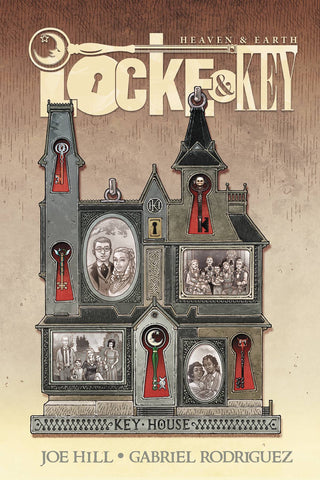 Locke & Key: Heaven & Earth Deluxe Edition HC, signed by Joe Hill!