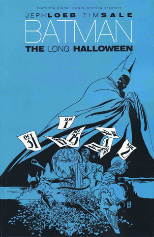 Batman: The Long Halloween TP, signed by Tim Sale!