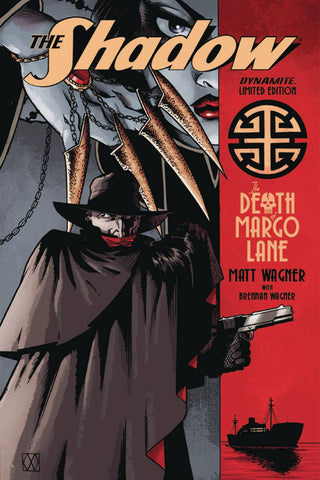 The Shadow: Death of Margo Lane Deluxe HC, signed & sketched by Matt Wagner!