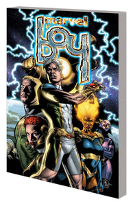 Marvel Boy TP, signed by J.G. Jones!