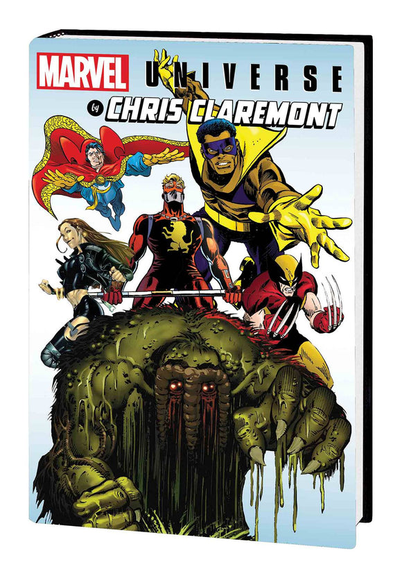 Marvel Universe by Chris Claremont HC, signed by Chris Claremont!