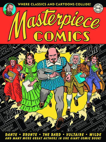 Masterpiece Comics HC, Signed & Sketched by R. Sikoryak!