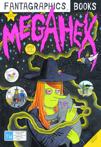 Megahex HC, Signed & Sketched by Simon Hanselmann!