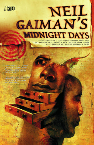 Midnight Days Deluxe HC,  signed by Neil Gaiman!
