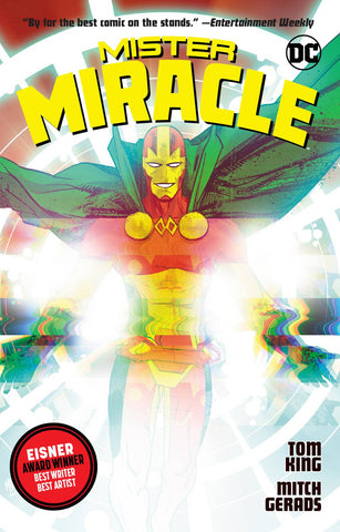 Mister Miracle TP, signed by Tom King!