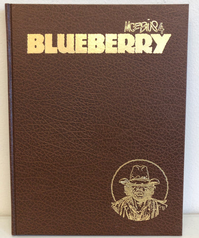 Moebius 4: Blueberry HC, Signed by Moebius!