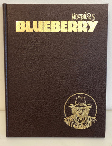 Moebius 5: Blueberry HC, Signed by Moebius!