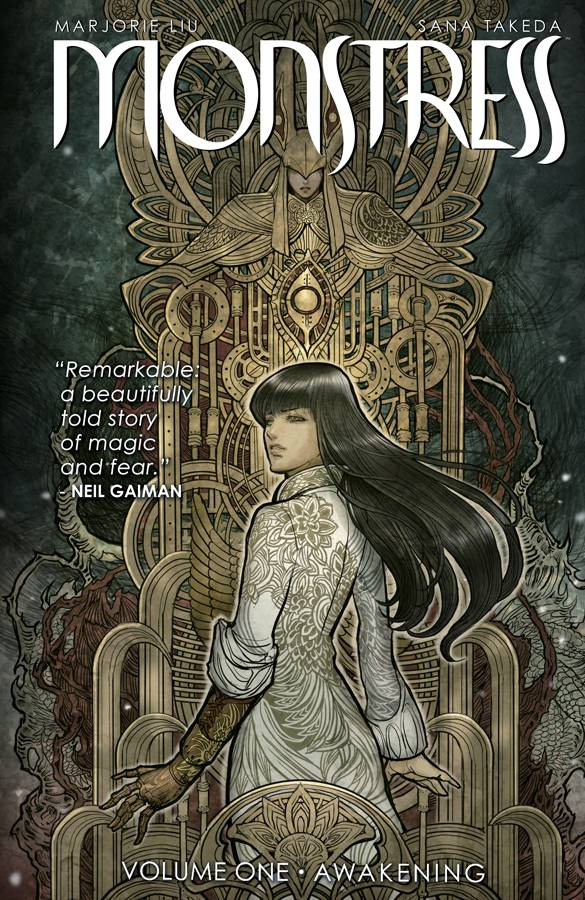 Monstress Vol 1 TP, signed by Marjorie Liu!