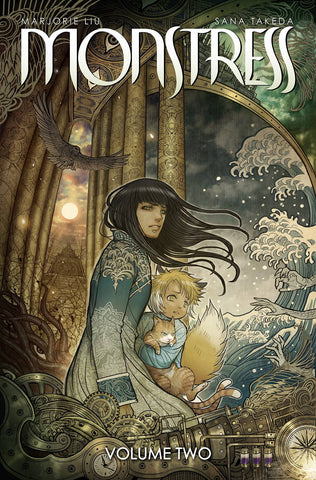 Monstress Vol 2 TP, signed by Marjorie Liu!