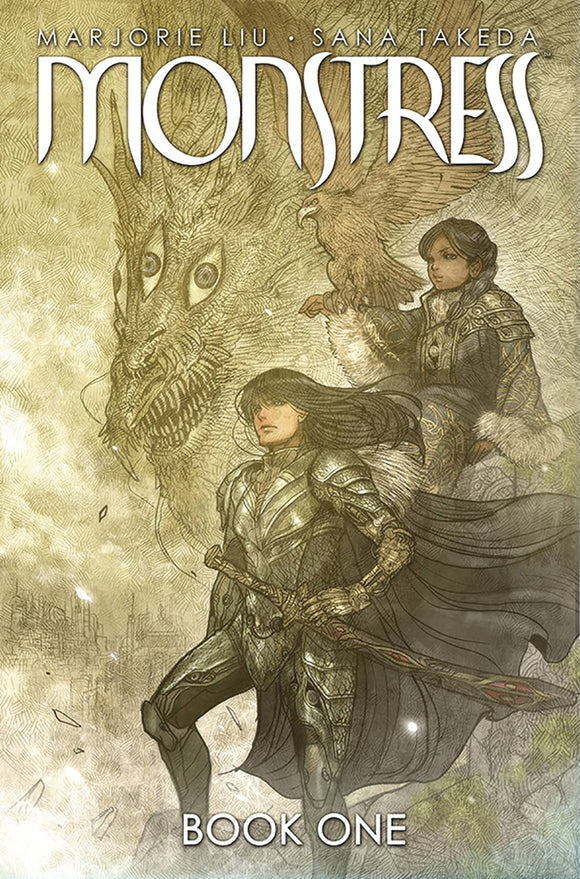 Monstress Vol 1 HC, signed by Marjorie Liu!