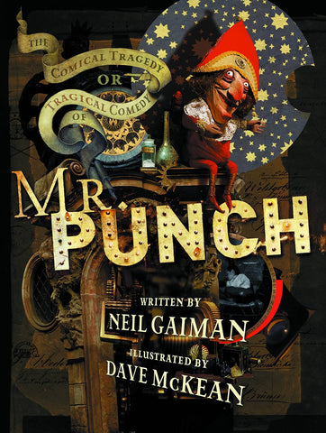 Mr. Punch 20th Anniversary HC, signed by Neil Gaiman!