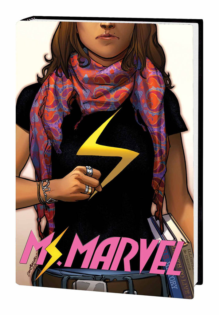Ms. Marvel HC Vol 1, signed by G. Willow Wilson!