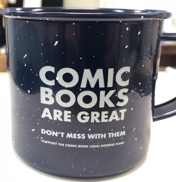 Comics Are Great Campfire Mug
