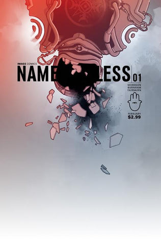 NAMELESS #1 CBLDF Variant by Jonathan Hickman!