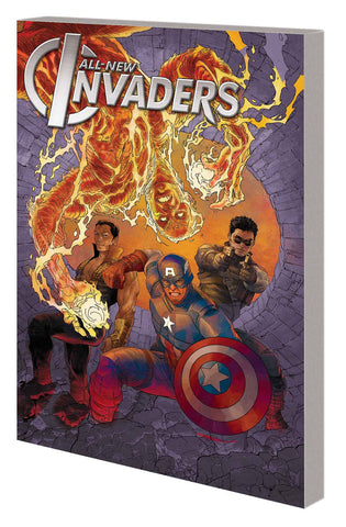 All-New Invaders Vol 1: Gods & Soldiers TP, signed by James Robinson!