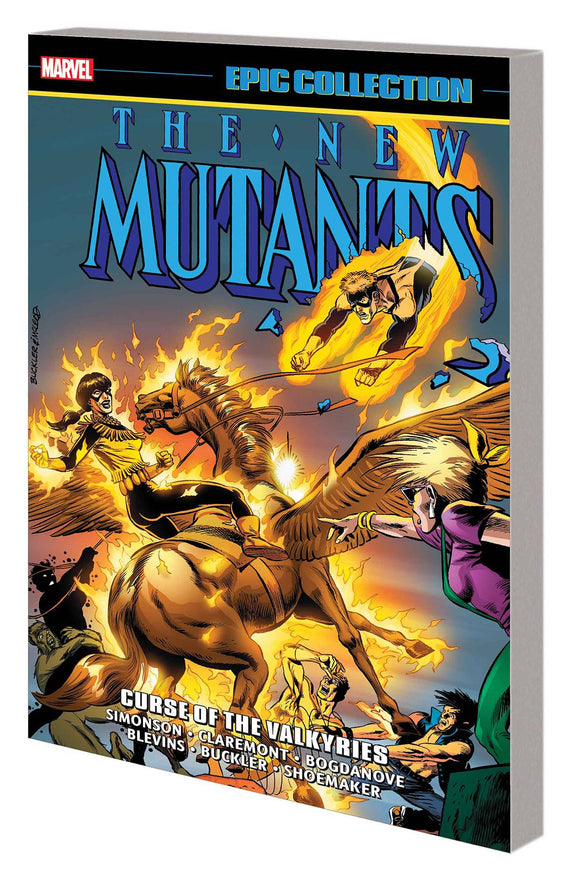 New Mutants Epic Collection: Curse of the Valkyries TP, signed by Chris Claremont!