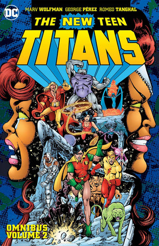 New Teen Titans Omnibus HC Vol 2, signed by Marv Wolfman!