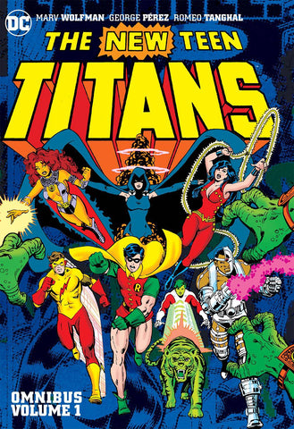 New Teen Titans Omnibus HC Vol 1, Signed by Marv Wolfman!
