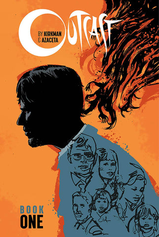 Outcast by Kirkman & Azaceta HC Book 1, Signed by Robert Kirkman!