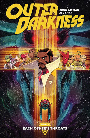 Outer Darkness Volume 1 TP Each Other's Throats, Signed By John Layman!