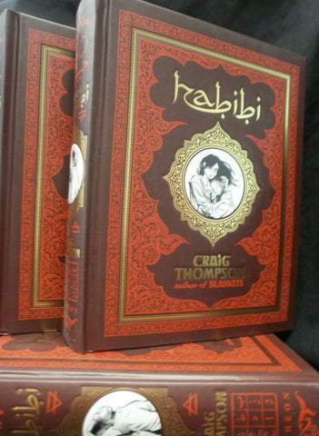 HABIBI Hardcover, Signed by Craig Thompson!