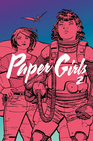 Paper Girls Volume Two TP, Signed by Cliff Chiang!