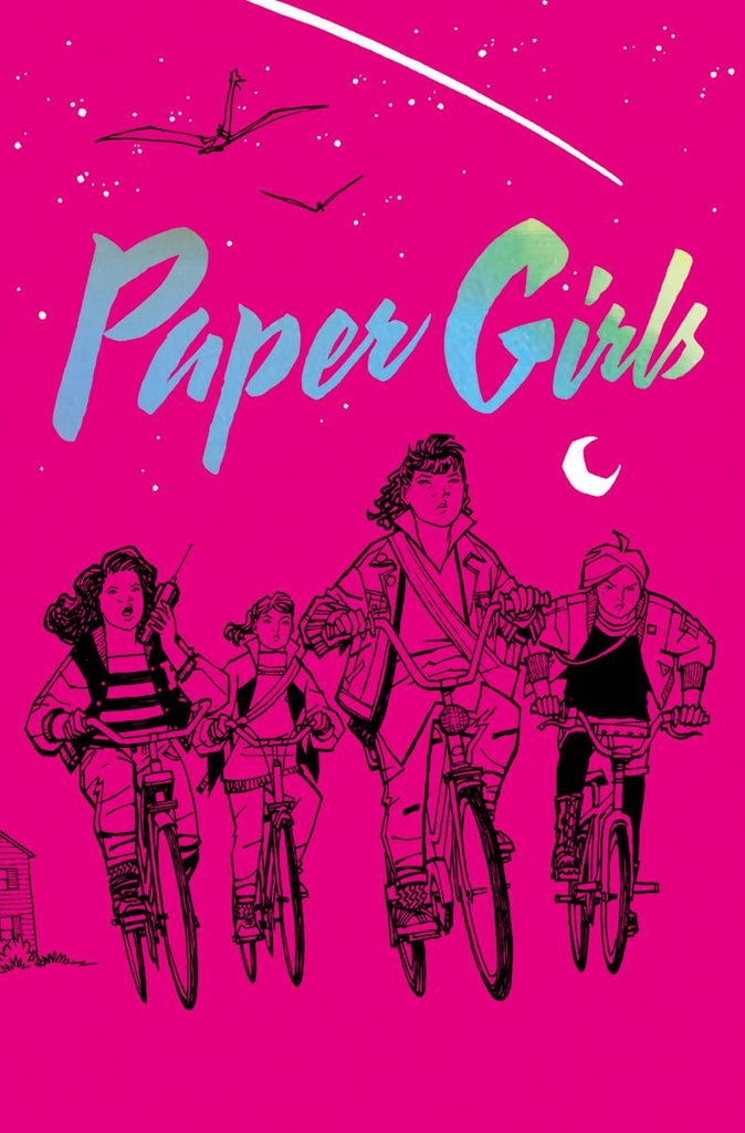 Paper Girls Volume One HC, Signed by Brian K. Vaughan!