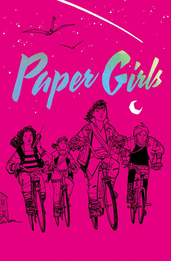 Paper Girls Volume One HC, Signed by Brian K. Vaughan & Cliff Chiang!