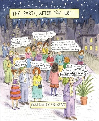 The Party, After You Left HC, Signed by Roz Chast!