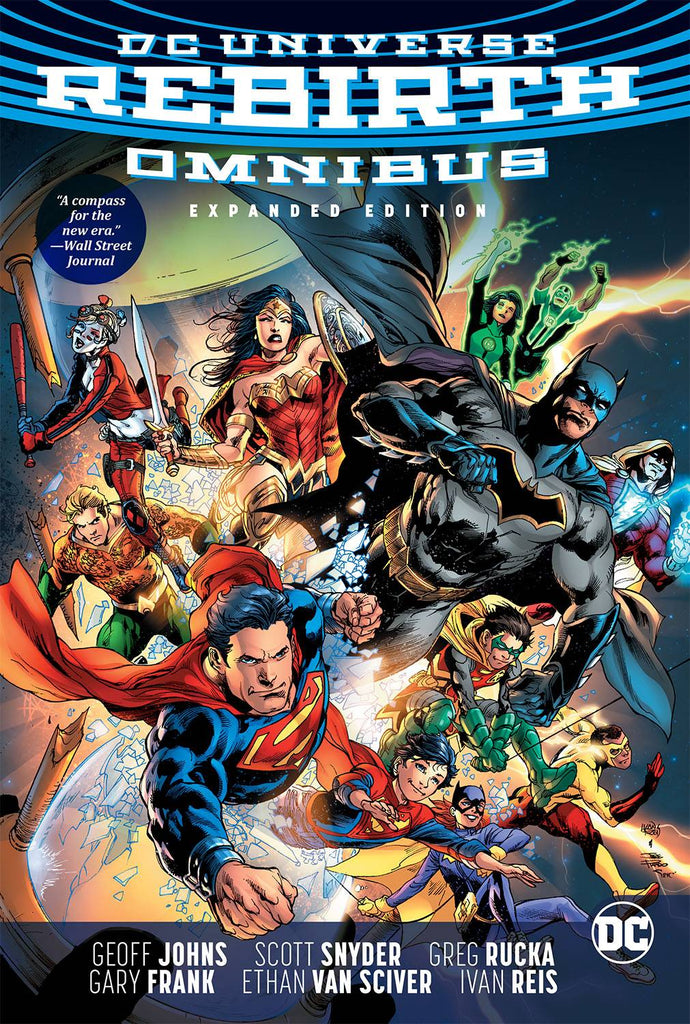 DC Rebirth Expanded Omnibus HC, signed by Geoff Johns!