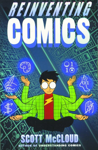 Reinventing Comics GN, signed by Scott McCloud!