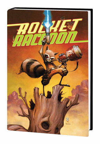 Rocket Raccoon Vol 1 HC, Signed by Skottie Young!