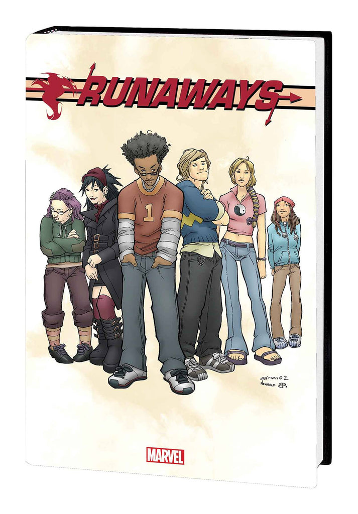 Runaways by Vaughan & Alphona Omnibus HC, Signed by Brian K. Vaughan!