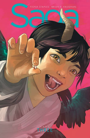 Saga Book Three Deluxe Edition Hardcover, Signed by Fiona Staples & Brian K. Vaughan!