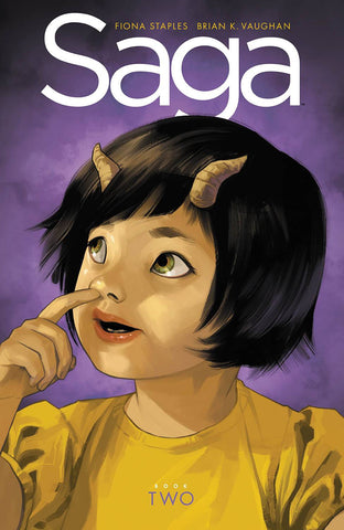 Saga Book Two Deluxe HC, PERSONALIZED by Brian K. Vaughan!