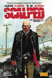 Scalped Deluxe Edition Volume One HC, signed by Jason Aaron!