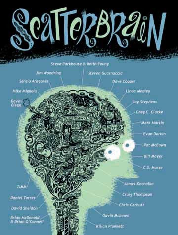 Scatterbrain Collection HC, signed & sketched by Sergio Aragones!