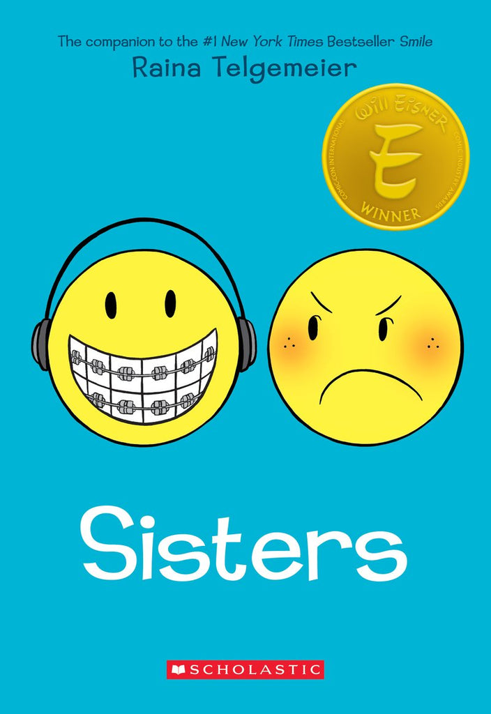 Sisters HC, signed by Raina Telgemeier!