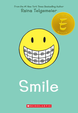 Smile SC, signed by Raina Telgemeier!