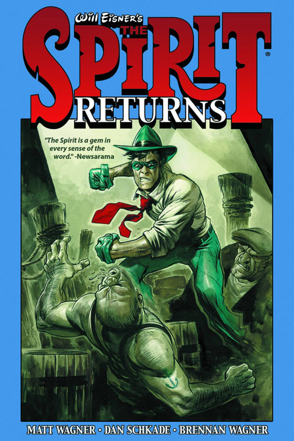 Will Eisner's The Spirit Returns HC, Signed by Matt Wagner!