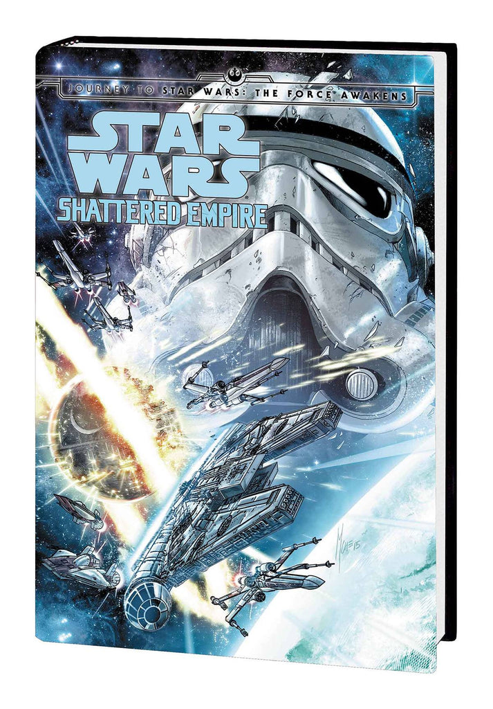 Journey To Star Wars The Force Awakens Shattered Empire Hc Signed