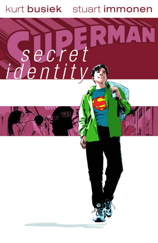 Superman: Secret Identity HC, signed by Stuart Immonen!