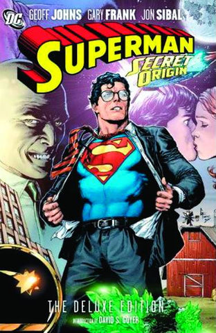 Superman: Secret Origin HC, signed by Geoff Johns!
