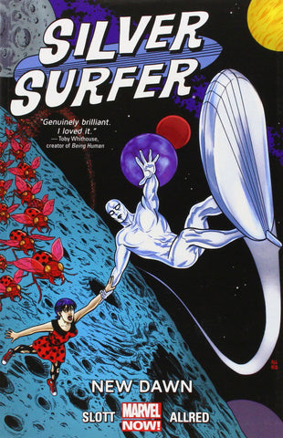 Silver Surfer Volume 1 TP, signed by Mike & Laura Allred!
