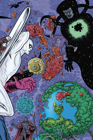 Silver Surfer by Slott & Allred Omnibus, PERSONALIZED by Mike & Laura Allred!