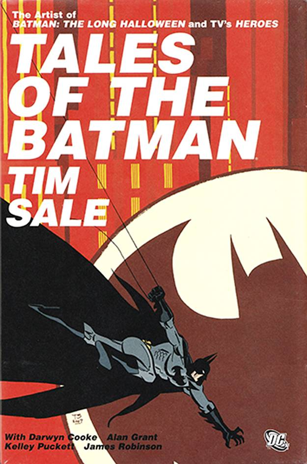 Tales of the Batman by Tim Sale HC, signed by Tim Sale!