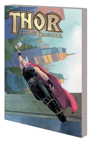 Thor by Aaron Complete Collection TP Vol 1, signed by Jason Aaron!