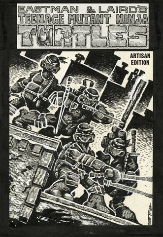 Teenage Mutant Ninja Turtles Artisan Edition HC, signed by Kevin Eastman!