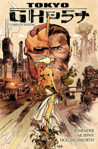 Tokyo Ghost Deluxe Edition HC, signed by Rick Remender!