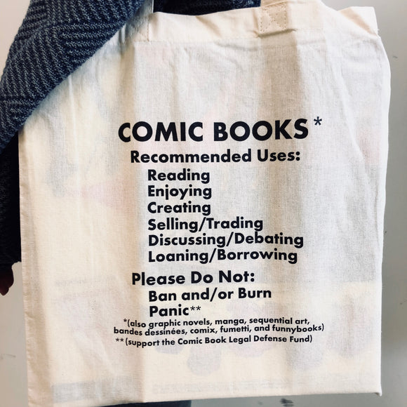 Comic Book Fact Sheet Tote Bag